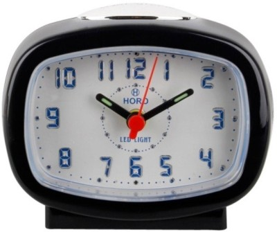 Horo Analog Black Clock