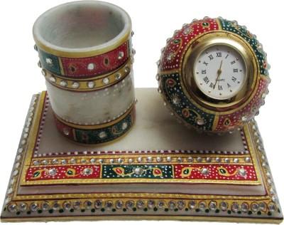 eCraftIndia Analog Multicolor Clock