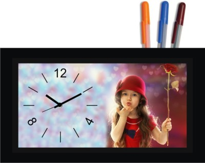 Regent Analog Multicolor Clock