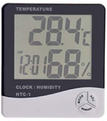 Elwin Digital White Clock