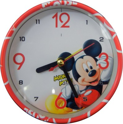 shopx Analog Red Clock