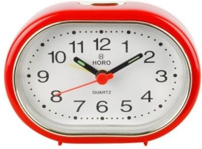 Horo Analog Red Clock