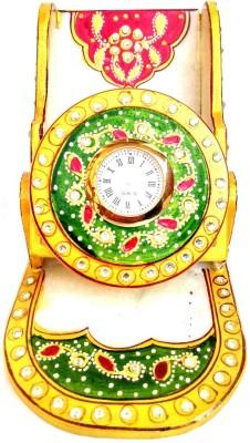 Shri Banke Handicraft Analog Multicolor Clock