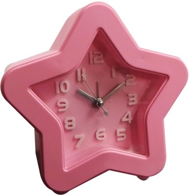 Gadget-Wagon Analog Pink Clock