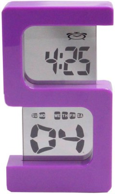 SHOPHILLS Digital Purple Clock