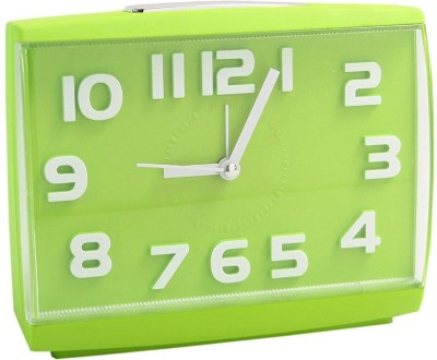 SHOPHILLS Analog Green Clock