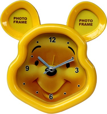 Scrazy Analog Yellow Clock