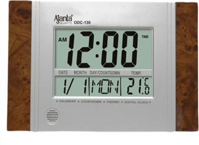 Ajanta Digital Grey Clock