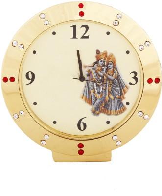Telesonic Analog Yellow Clock