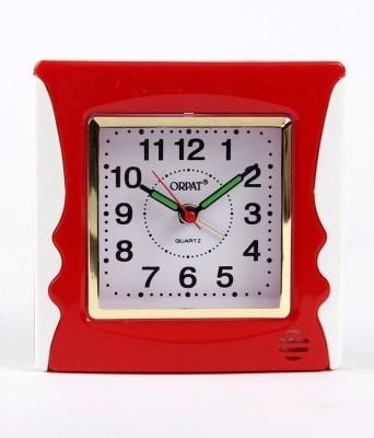 Orpat Analog Red Clock