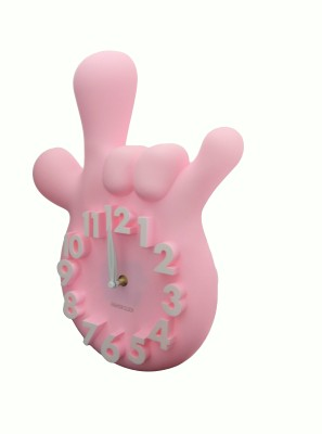 GeekGoodies Analog Pink Clock