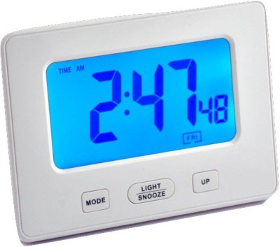 HAPS Digital WHITE Clock