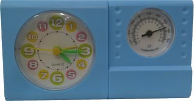 Onatto Analog Blue Clock