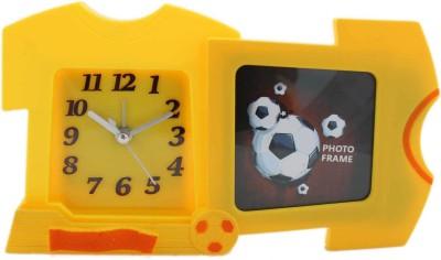 Tootpado Analog Yellow Clock