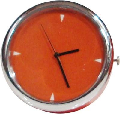 Raghav Analog Orange Clock