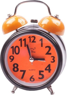 SHOPHILLS Analog Orange Clock