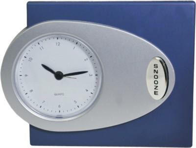 Power Plus Analog Silver Clock