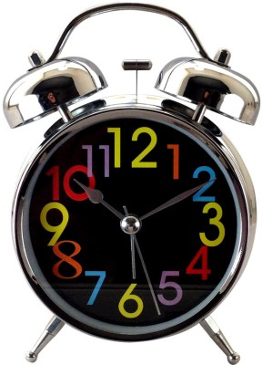 Gift Island Analog Black Clock
