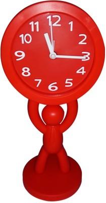 ShopeGift Analog Red Clock