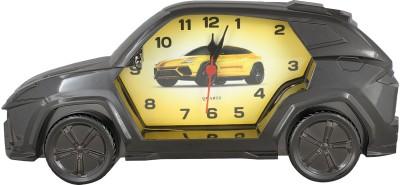 Taino Analog Steel Clock