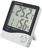 Bulfyss Digital White Clock