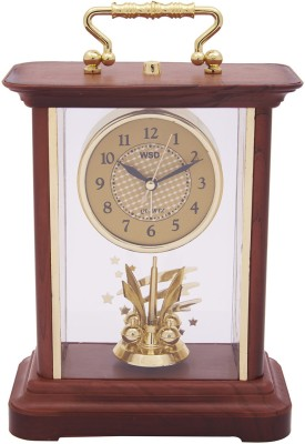 KBE Analog Brown Clock