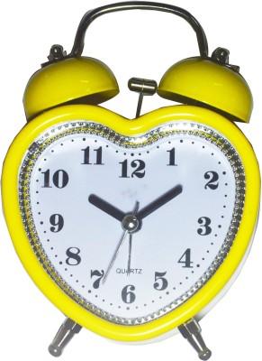 Like Analog Yellow Clock