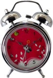 Gift Island Analog Silver Clock