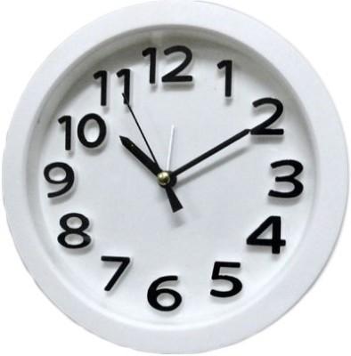 Mebelkart Analog White Clock