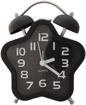 Tootpado Analog Black Clock