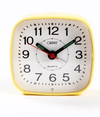 Orpat Analog Yellow Clock