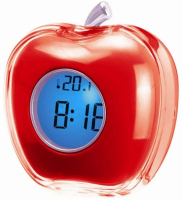 Gadget Bucket Digital Red Clock