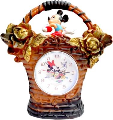 BatukSmartShopy Analog Brown Clock