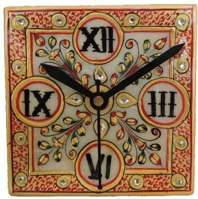 Happy Craft Analog multicolour Clock