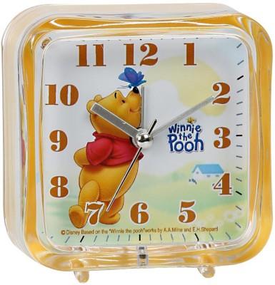 Disney Analog Yellow Clock