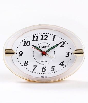 Orpat Analog Orange Clock