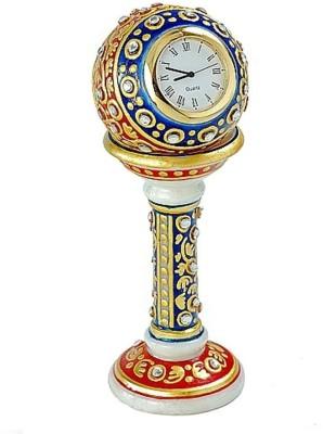 Antique Handicrafts Analog White Clock