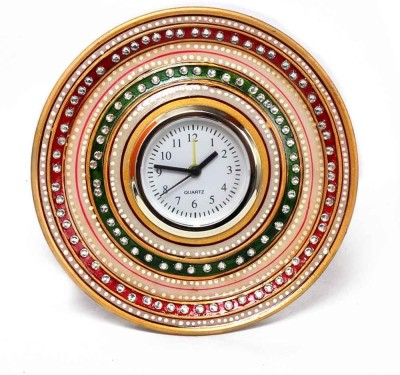 Advent Crafts Analog Multicolor Clock