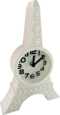 Klassik Analog White Clock