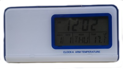 Ptcmart Digital Blue Clock