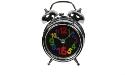 Peaches Bizarre Analog Black Clock