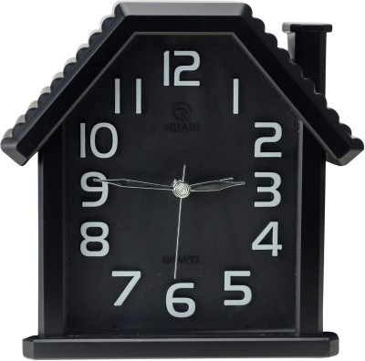 Zeva Analog Black Clock