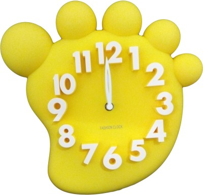 GeekGoodies Analog Yellow Clock