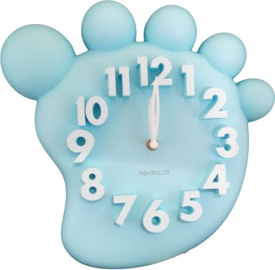 GeekGoodies Analog Blue Clock