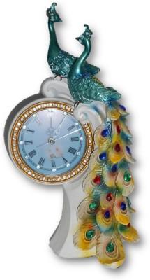 Sudesh Decor Analog Blue, Multicolor Clock