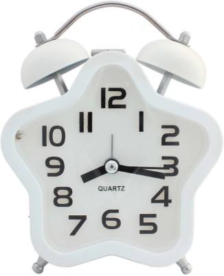 Tootpado Analog White Clock