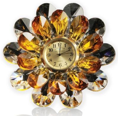 Infinity Analog Brown Clock