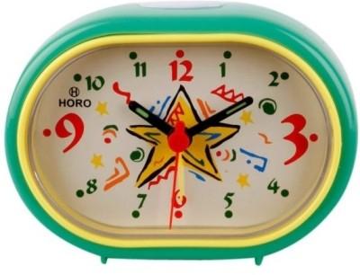 Horo Analog Green Clock