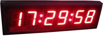 Impecc Solutions Digital Black Clock