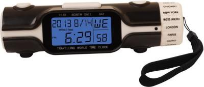 PeepalComm Digital Black, White Clock